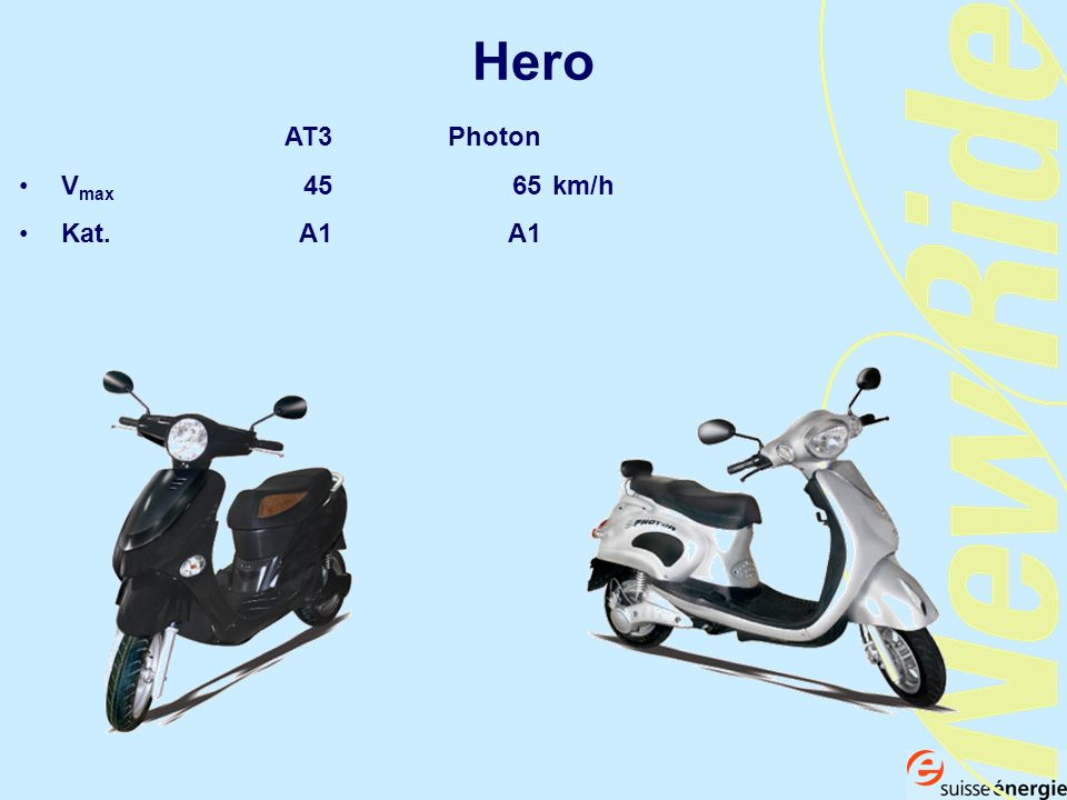Hero AT3 Photon Vmax km/h Kat. A1 A1