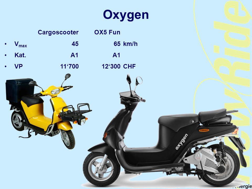 Oxygen Cargoscooter OX5 Fun Vmax 45 65 km/h Kat. A1 A1
