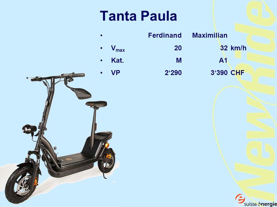Tanta Paula Ferdinand Maximilian Vmax 20 32 km/h Kat. M A1