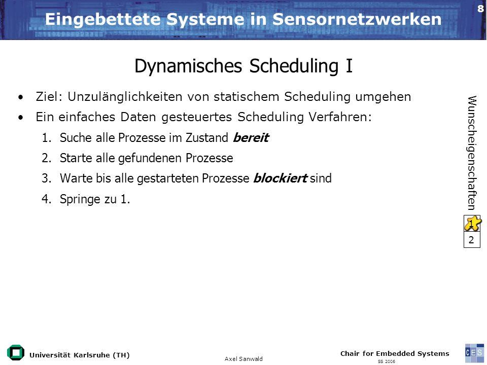 Dynamisches Scheduling I