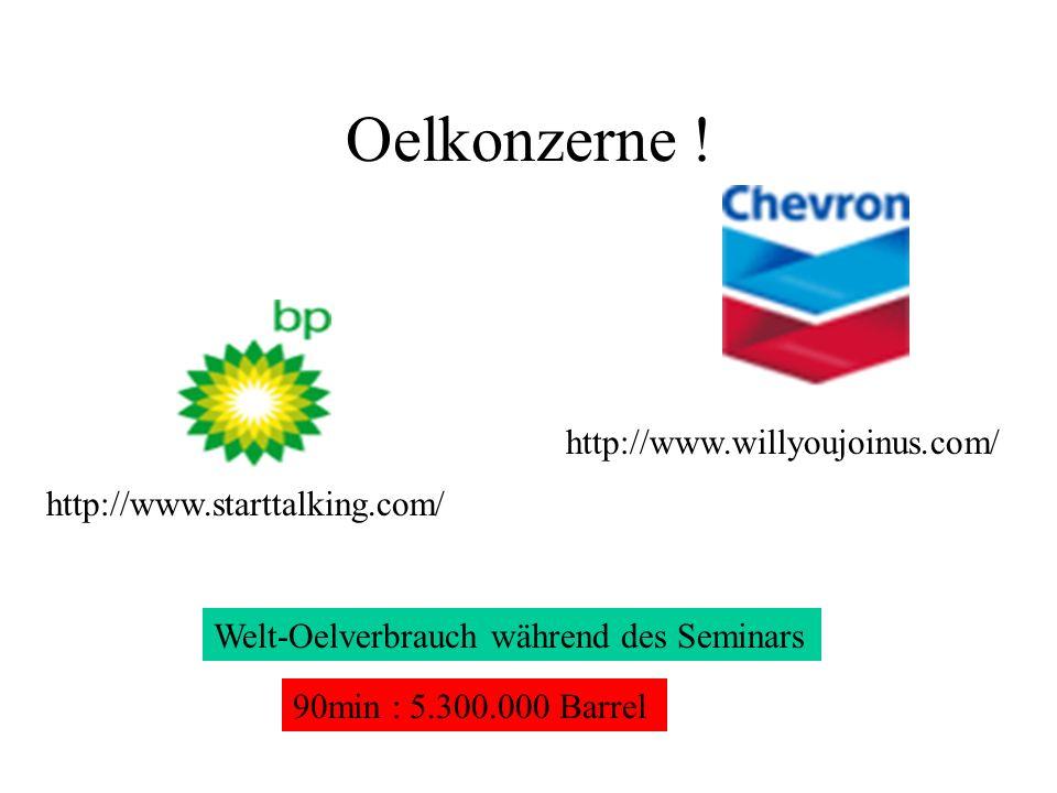 Oelkonzerne ! http://www.willyoujoinus.com/