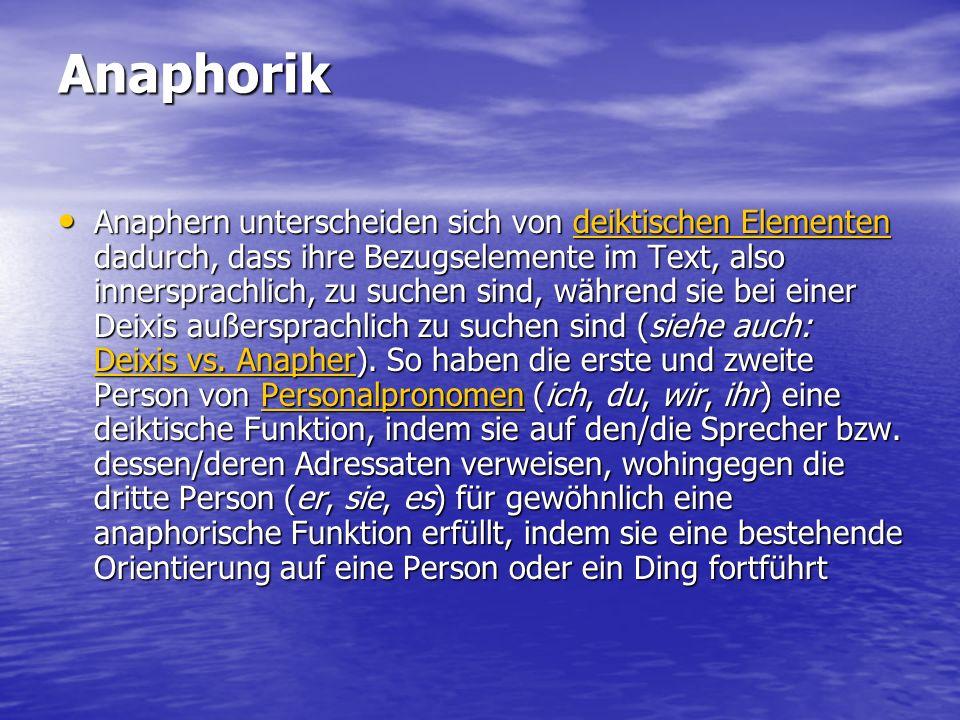 Anaphorik