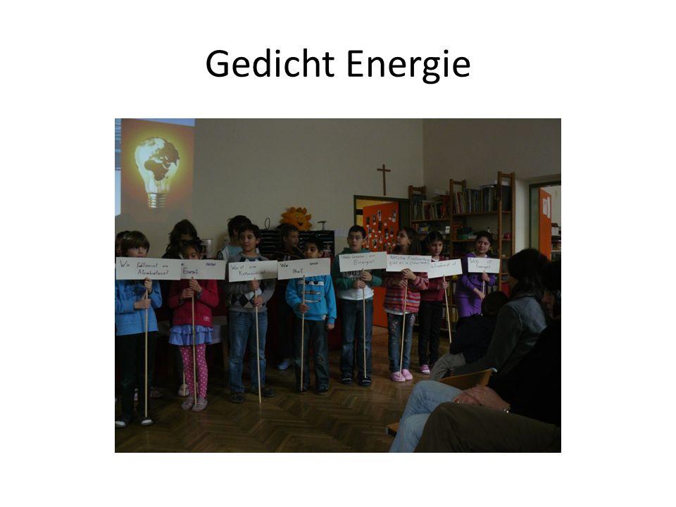 Gedicht Energie