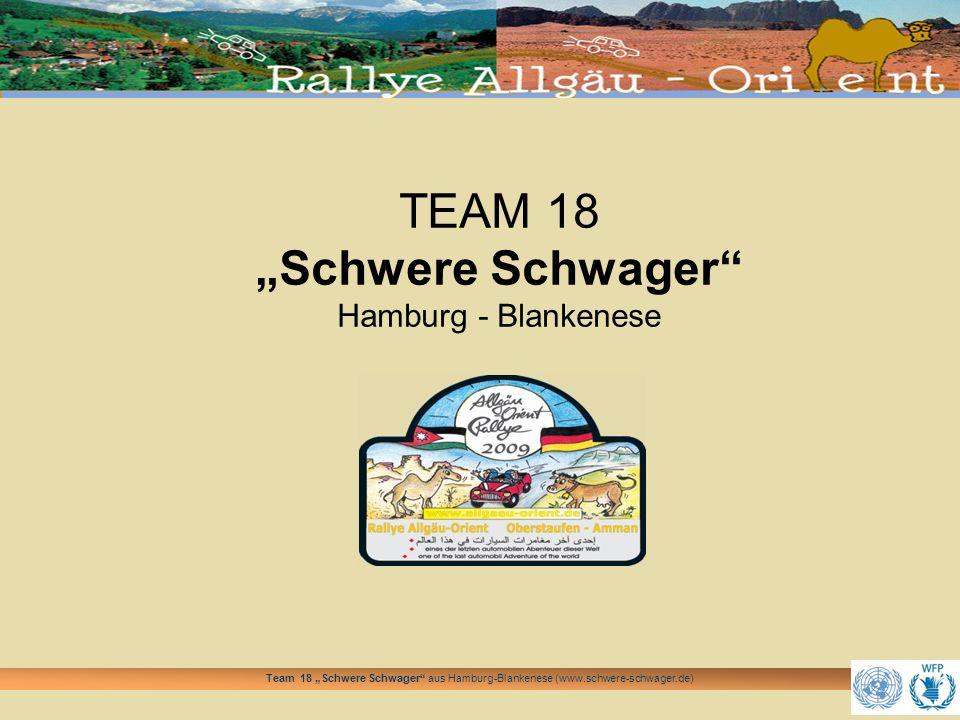 """TEAM 18 """"Schwere Schwager Hamburg - Blankenese"""