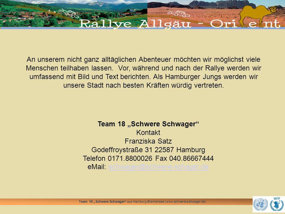"""Team 18 """"Schwere Schwager"""