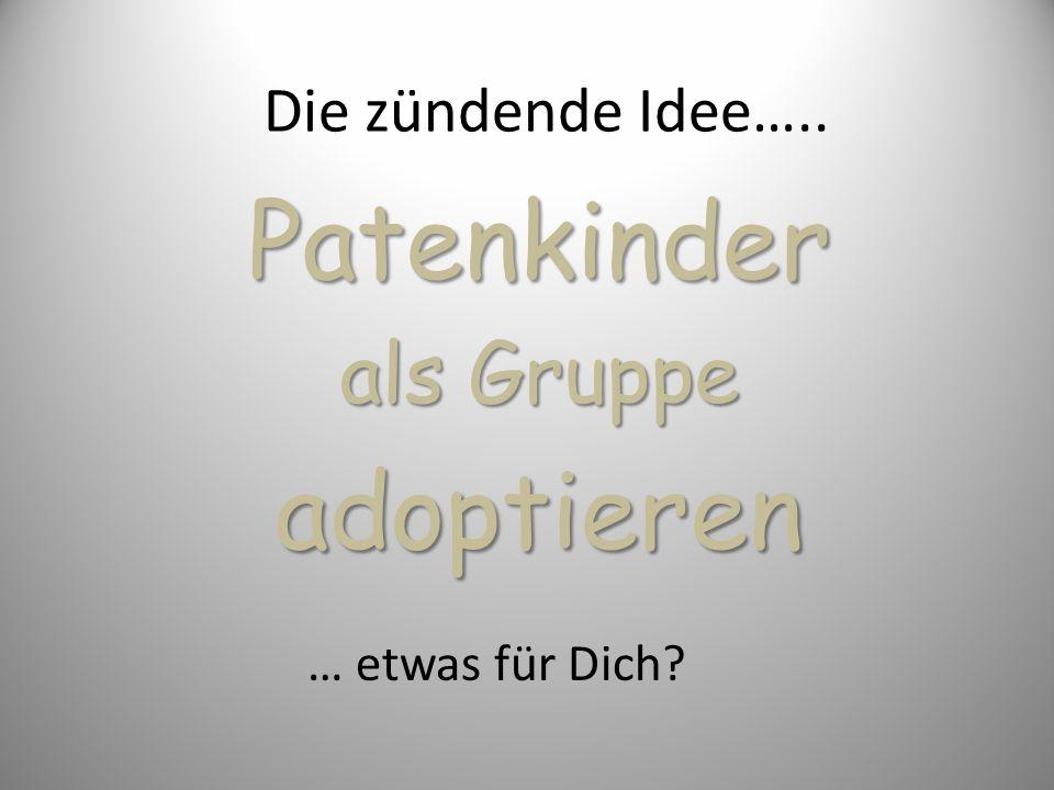 Patenkinder als Gruppe adoptieren