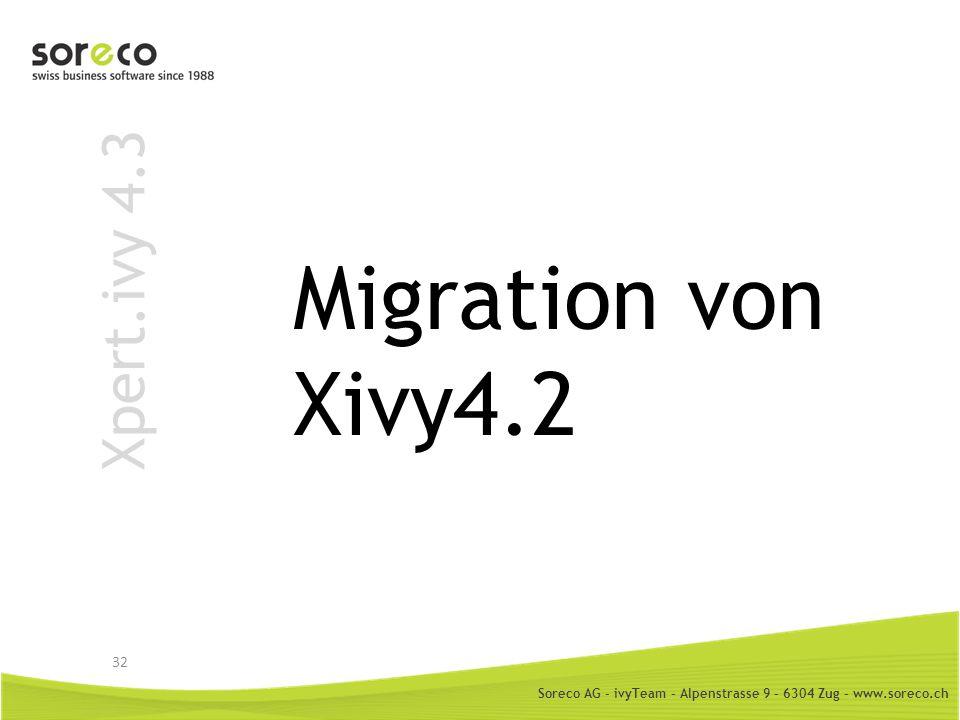 Migration von Xivy4.2 Xpert.ivy 4.3