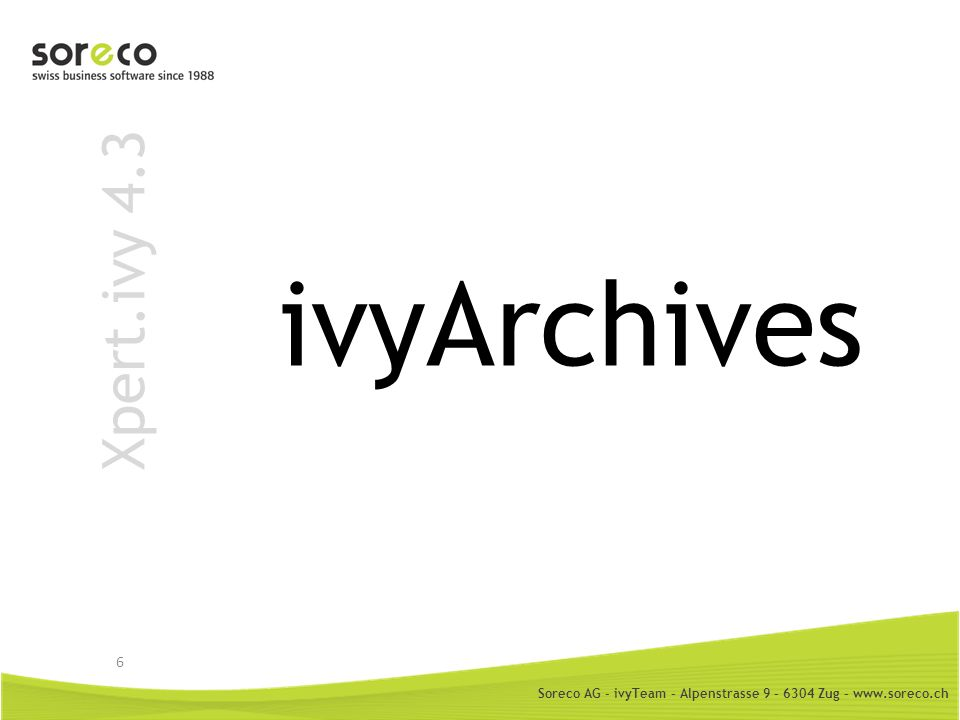 ivyArchives Xpert.ivy 4.3