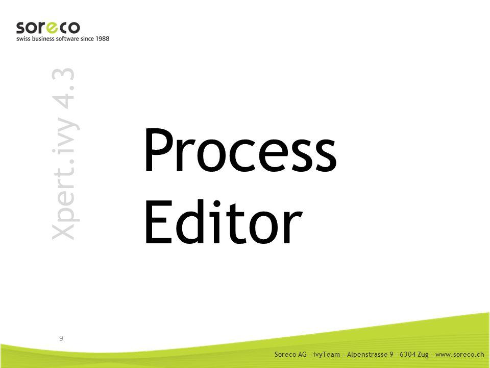 Process Editor Xpert.ivy 4.3