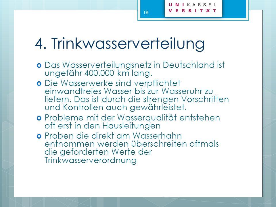4. Trinkwasserverteilung