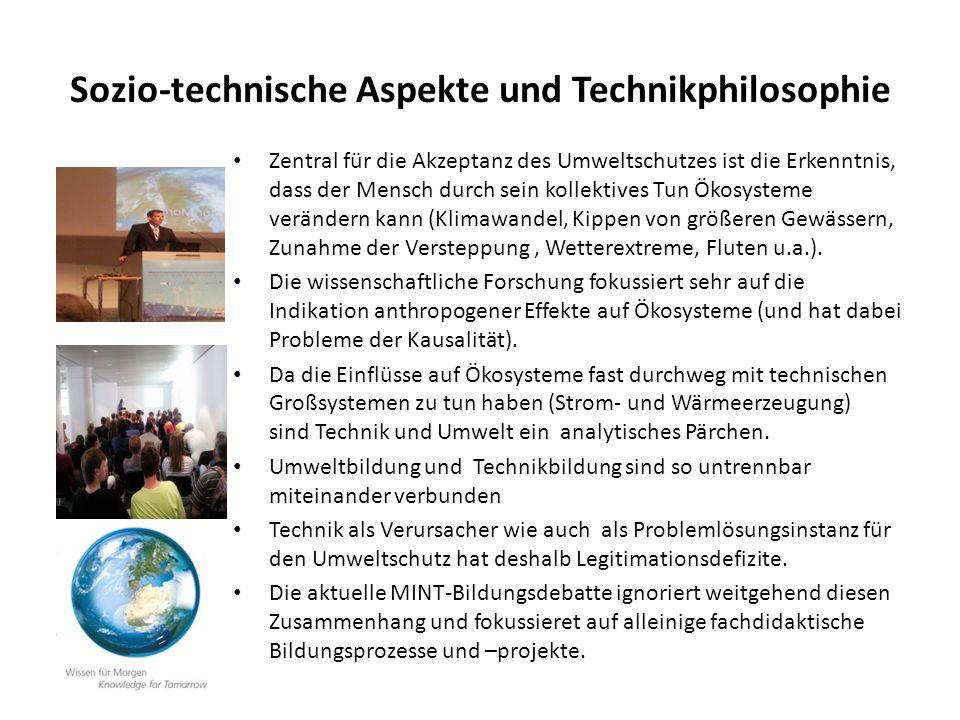 Sozio-technische Aspekte und Technikphilosophie