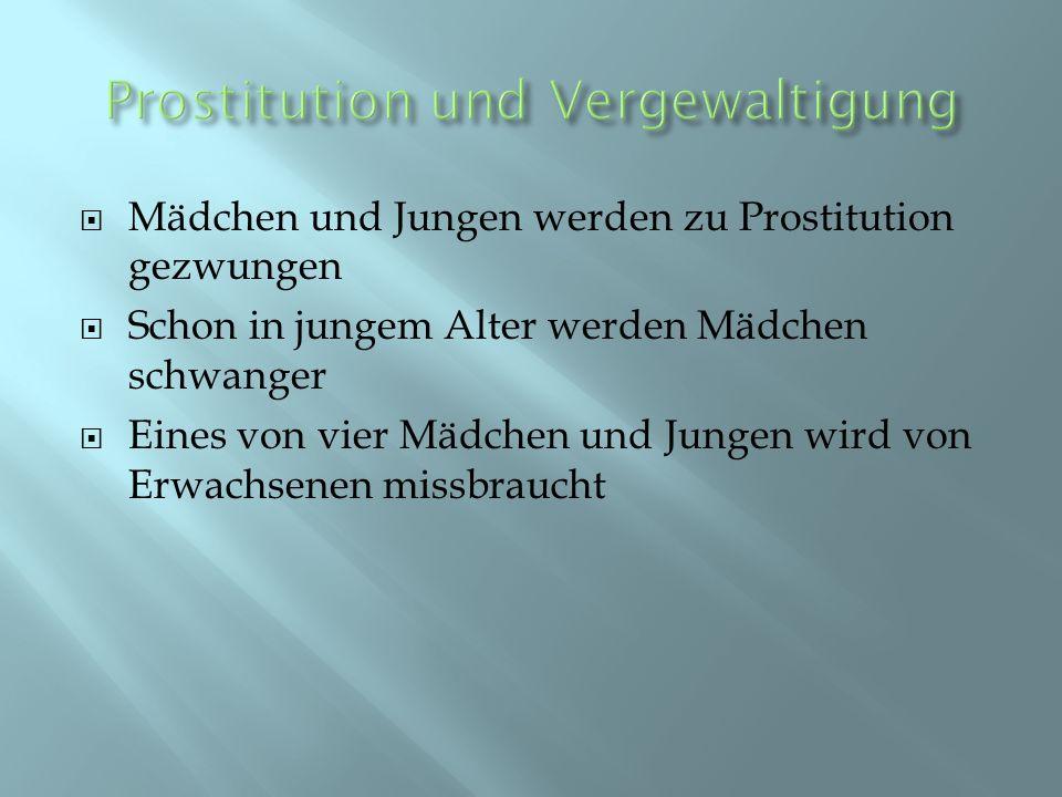 Prostitution und Vergewaltigung