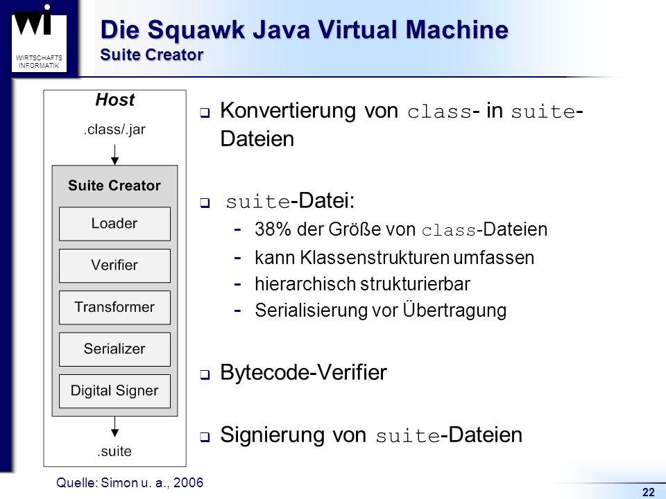 Die Squawk Java Virtual Machine Suite Creator