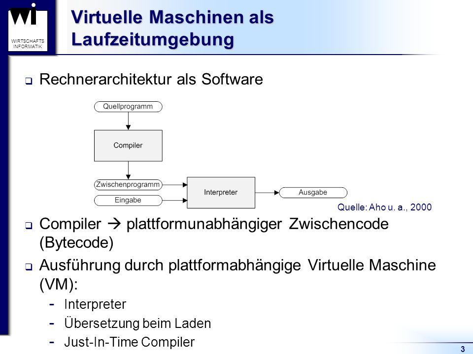 Virtuelle Maschinen als Laufzeitumgebung