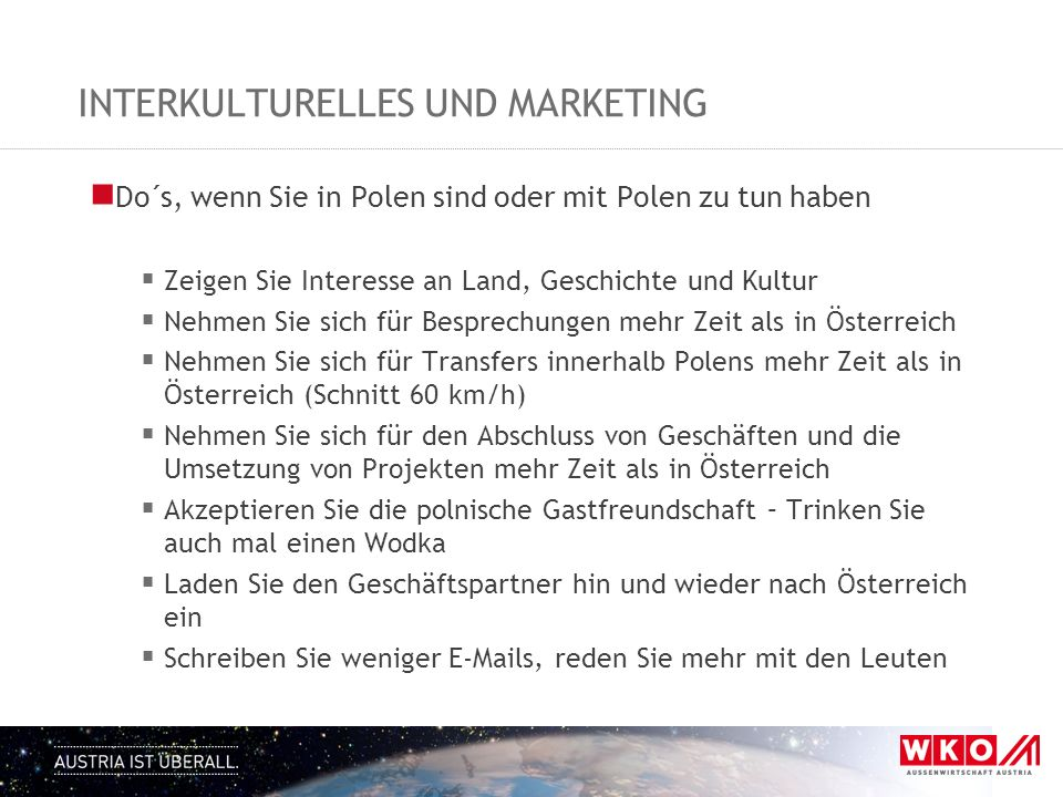 interkulturelles und marketing
