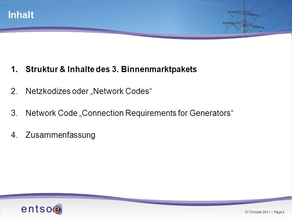 Inhalt Struktur & Inhalte des 3. Binnenmarktpakets
