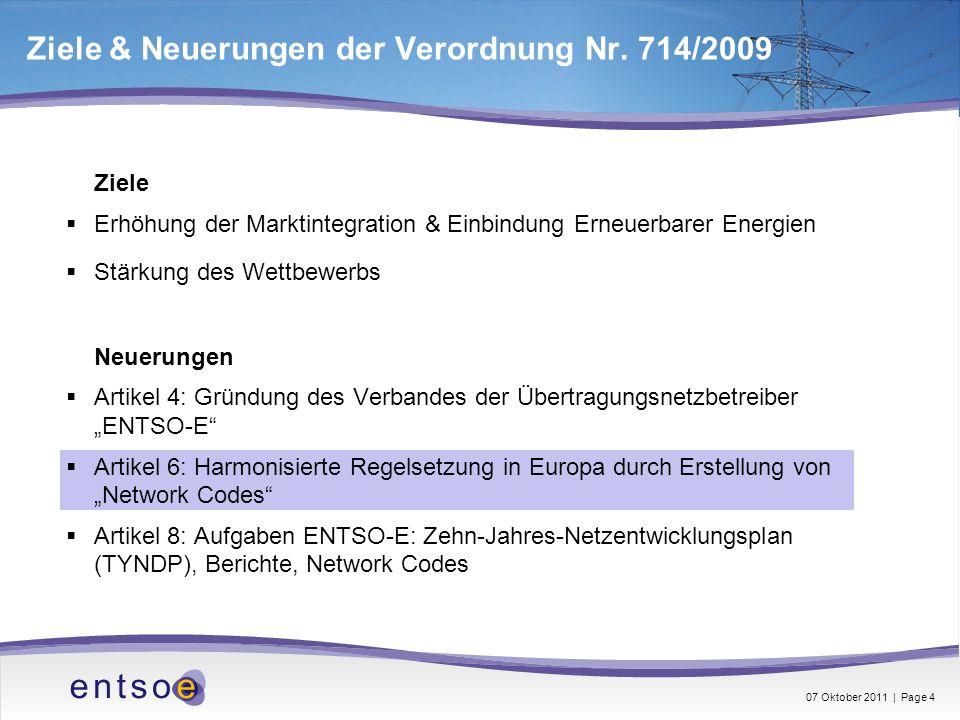 Ziele & Neuerungen der Verordnung Nr. 714/2009