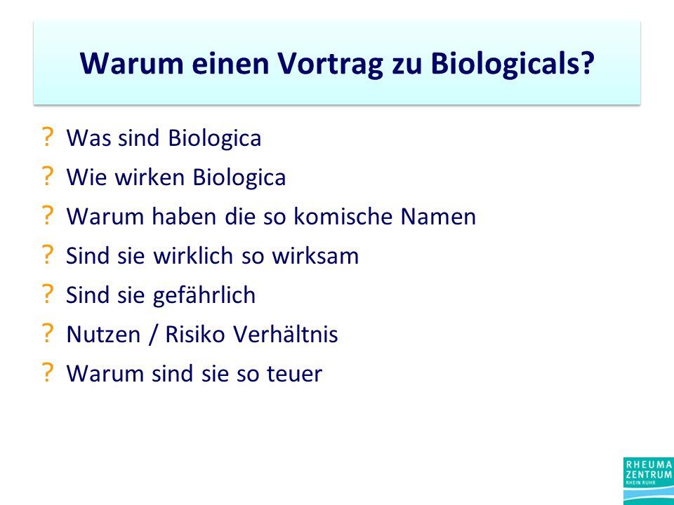Warum einen Vortrag zu Biologicals