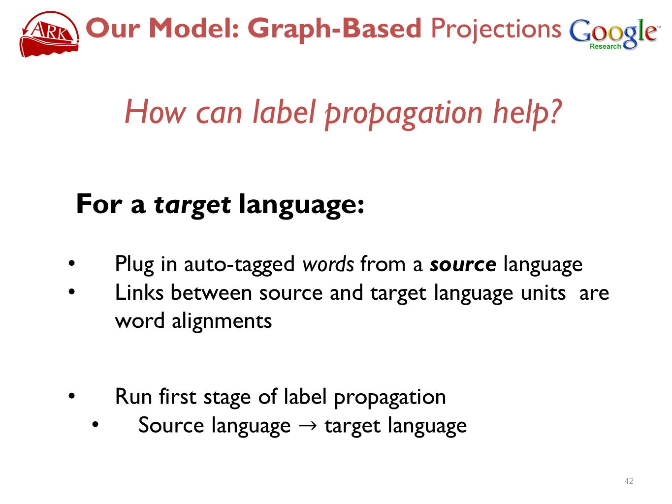 How can label propagation help
