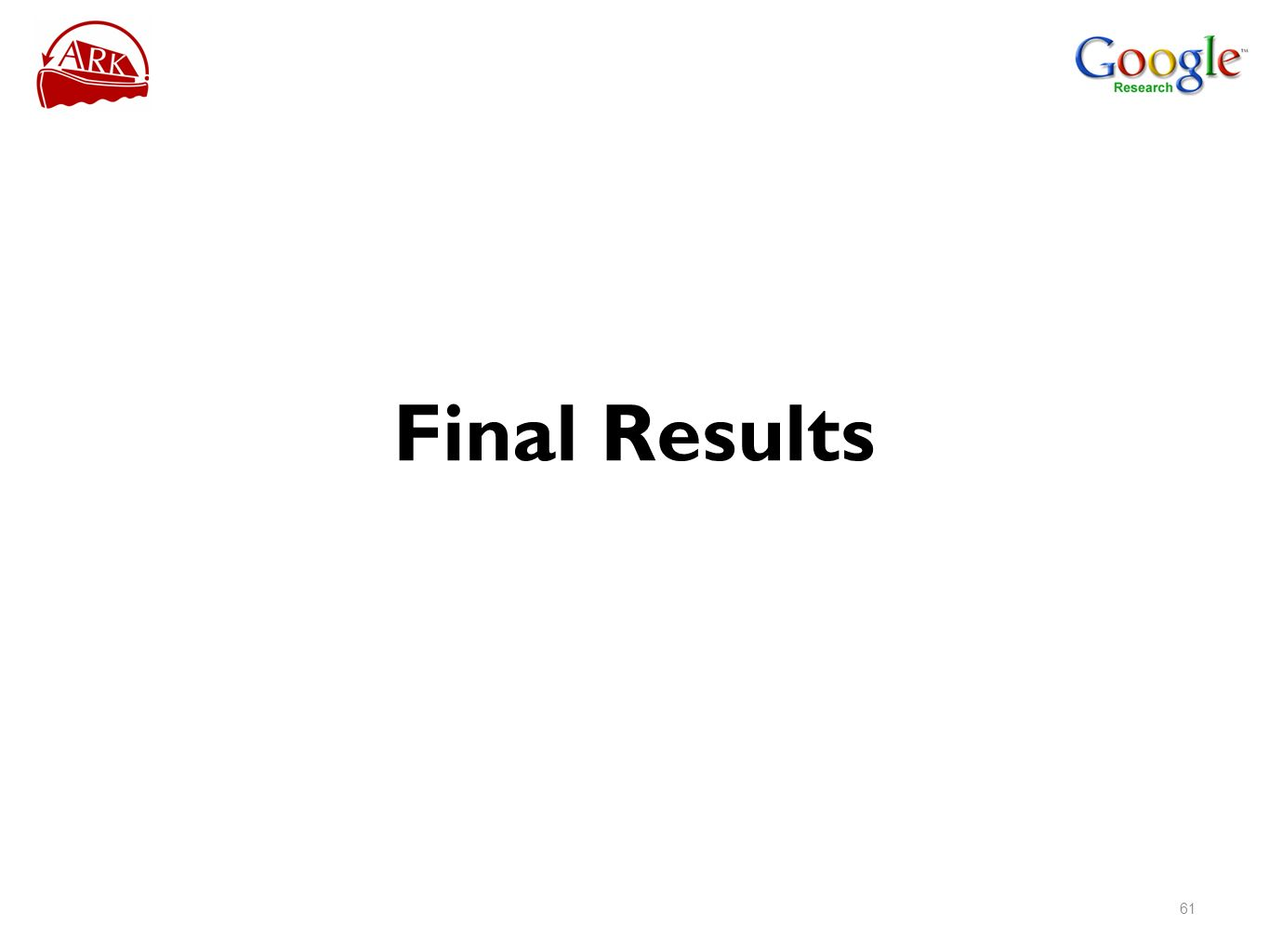 Final Results