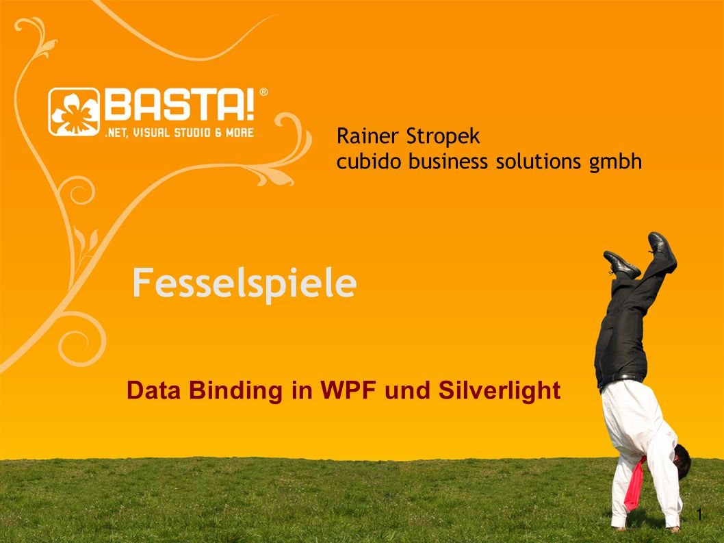 Fesselspiele Data Binding in WPF und Silverlight