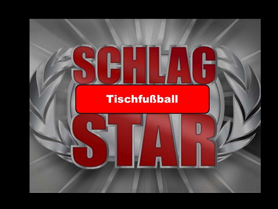 Tischfußball Spiel 1