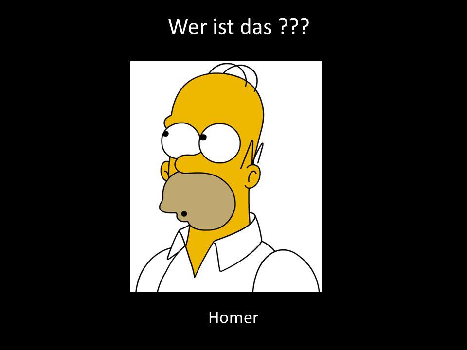 Wer ist das Homer