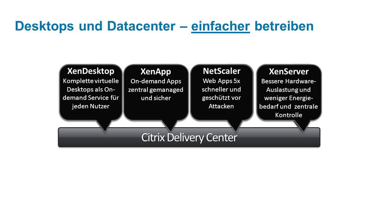 Desktops und Datacenter – einfacher betreiben