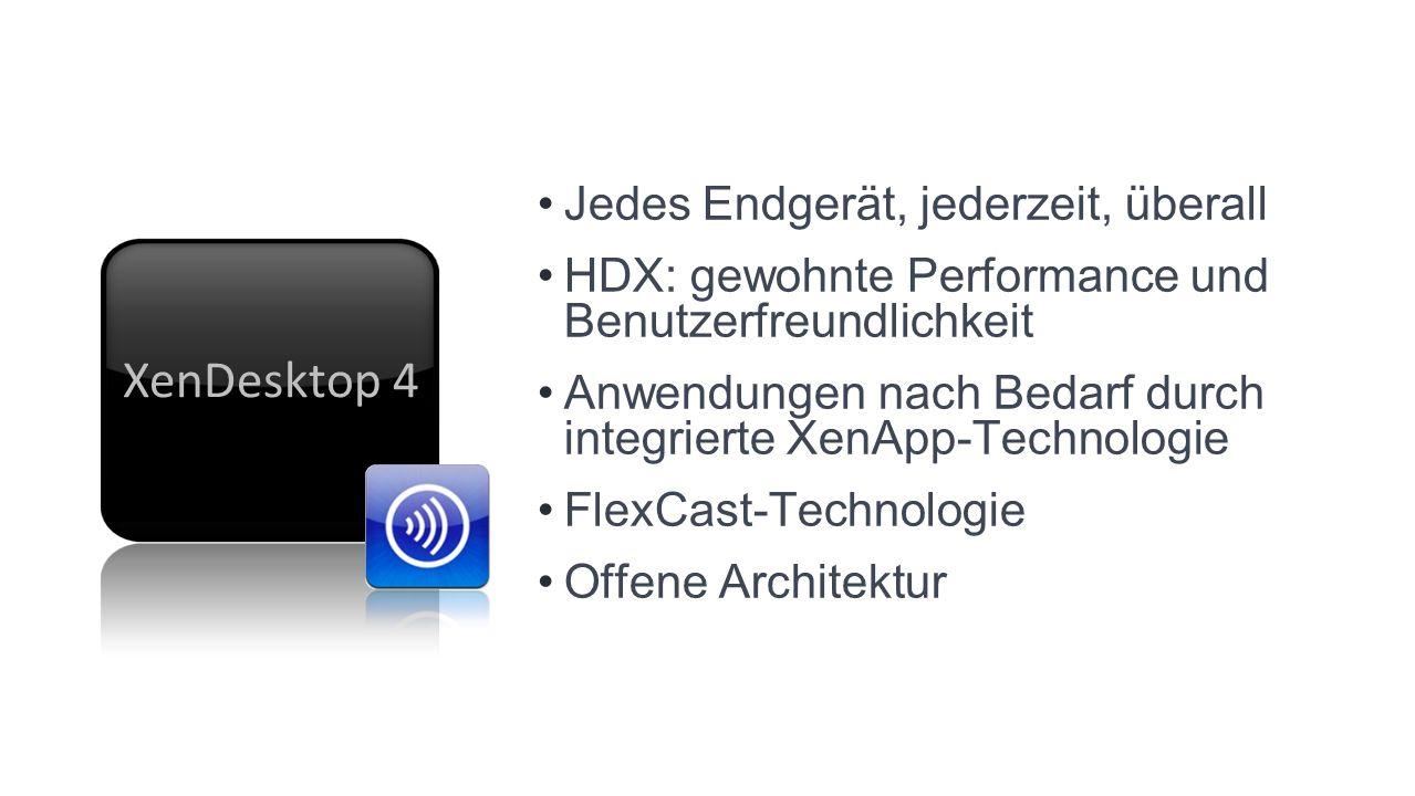 XenDesktop 4 Jedes Endgerät, jederzeit, überall