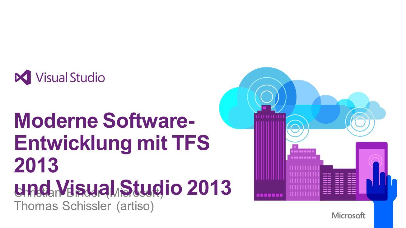 Moderne Software-Entwicklung mit TFS 2013 und Visual Studio 2013