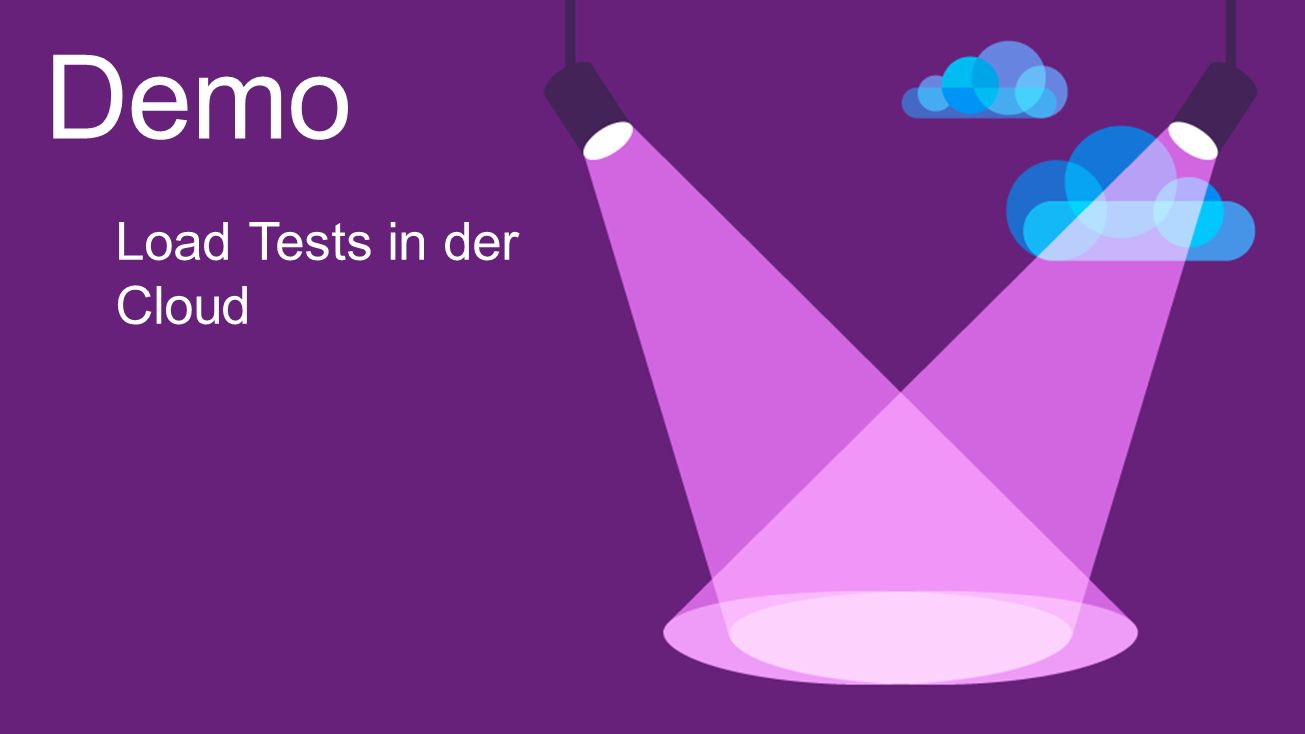 Demo Load Tests in der Cloud