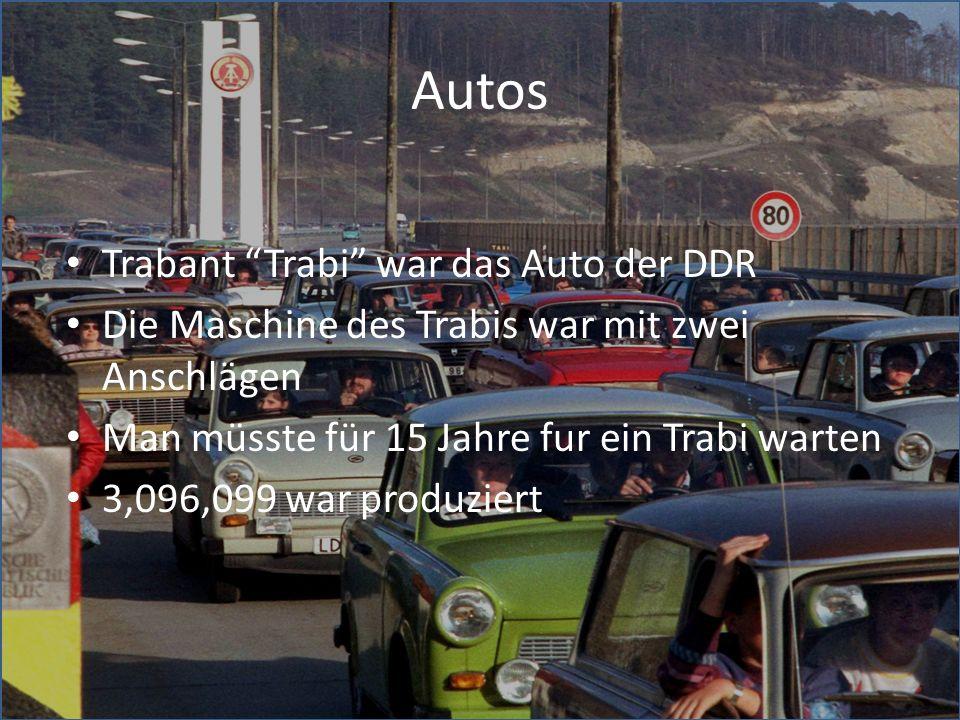 Autos Trabant Trabi war das Auto der DDR