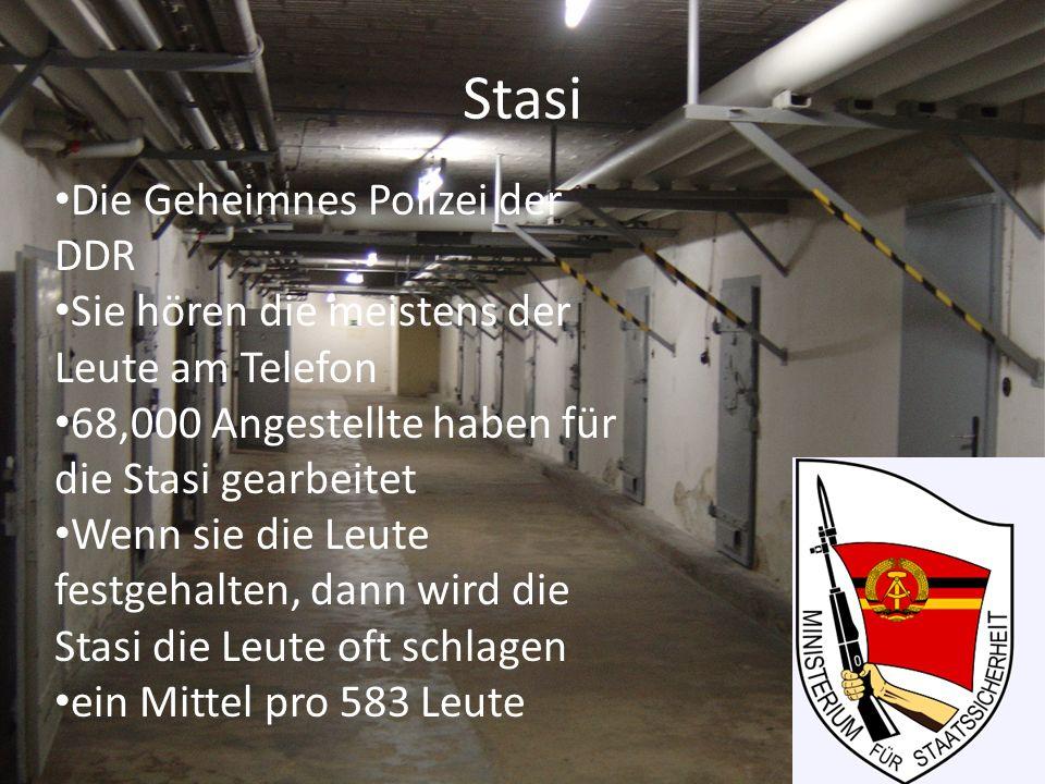 Stasi Die Geheimnes Polizei der DDR