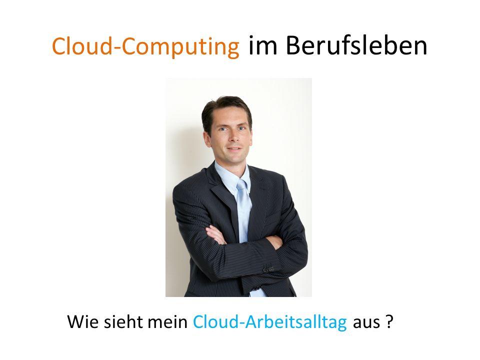 Cloud-Computing im Berufsleben