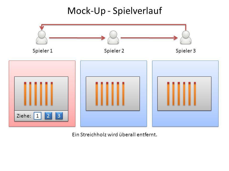 Mock-Up - Spielverlauf