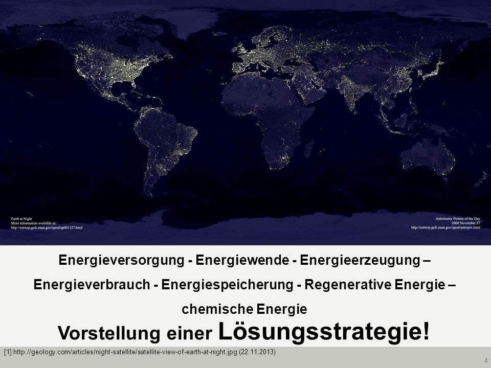 Vorstellung einer Lösungsstrategie!