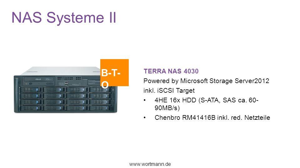NAS Systeme II B-T-O TERRA NAS 4030