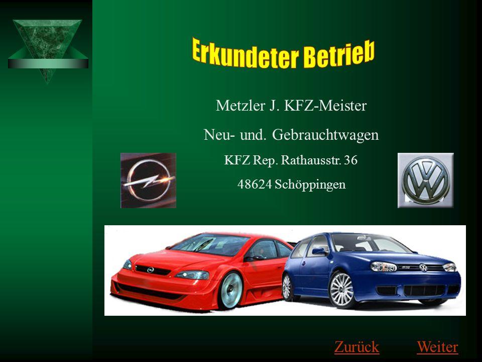 Neu- und. Gebrauchtwagen