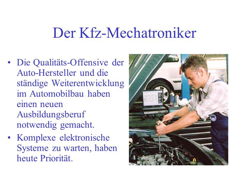 Der Kfz-Mechatroniker