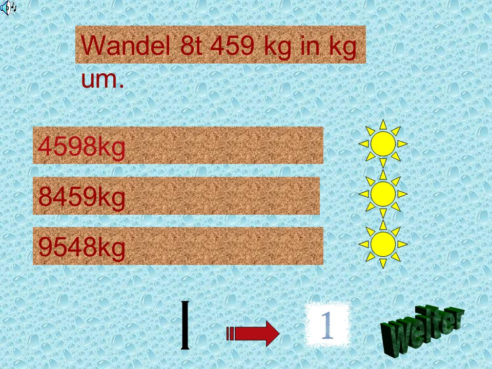 Wandel 8t 459 kg in kg um. 4598kg 8459kg 9548kg weiter