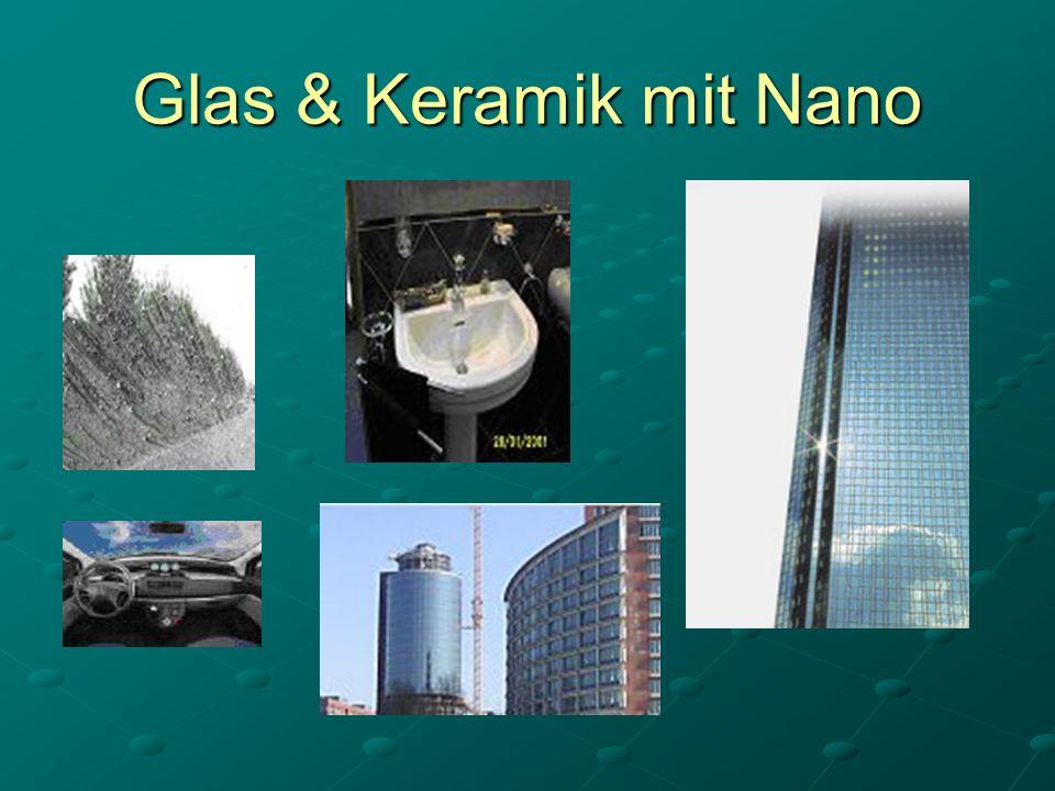 Glas & Keramik mit Nano
