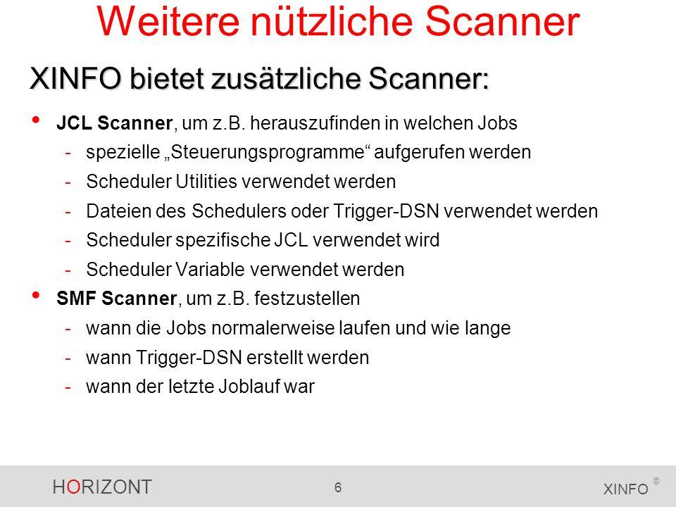 Weitere nützliche Scanner