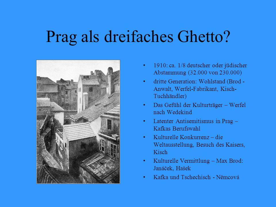 Prag als dreifaches Ghetto