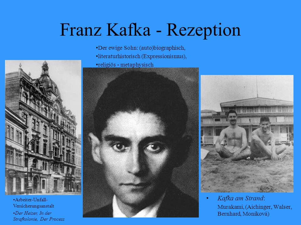 Franz Kafka - Rezeption