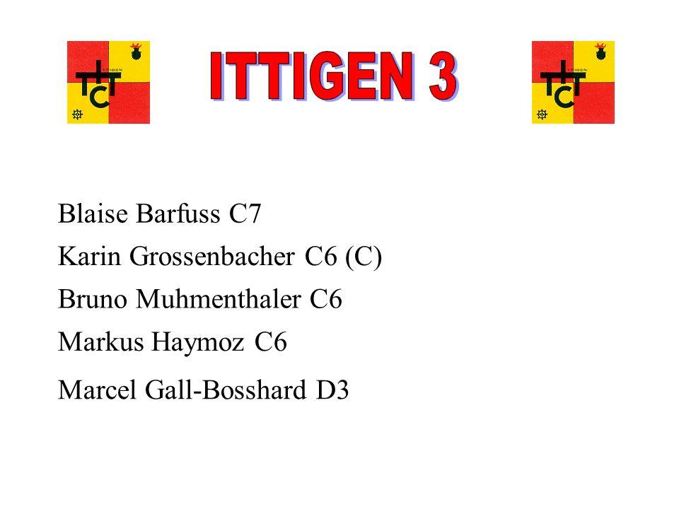 ITTIGEN 3 Blaise Barfuss C7 Karin Grossenbacher C6 (C)