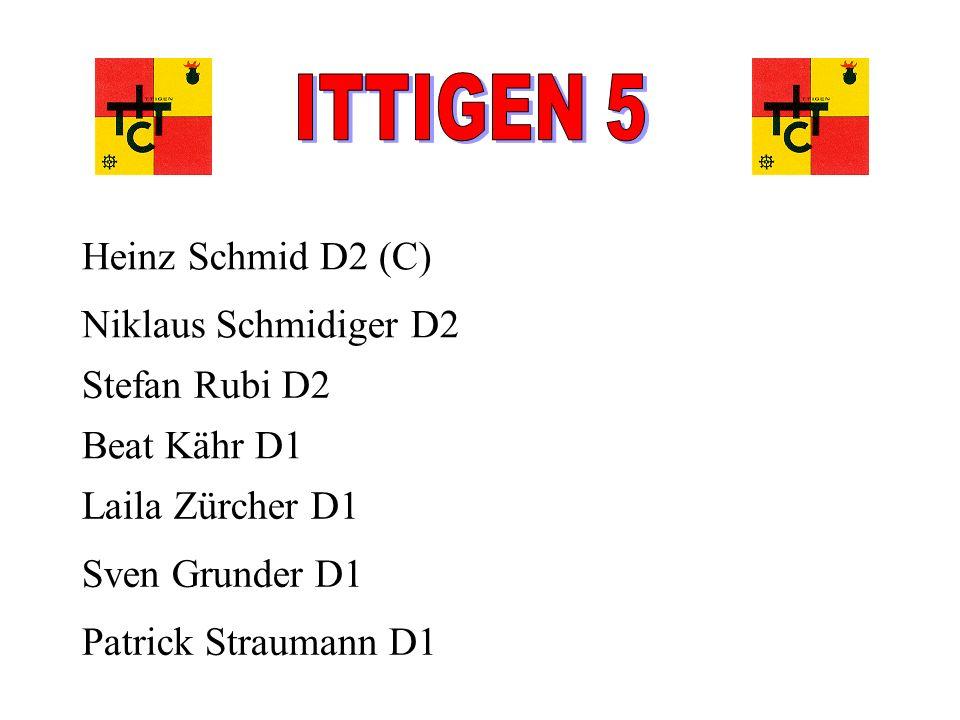 ITTIGEN 5 Heinz Schmid D2 (C) Niklaus Schmidiger D2 Stefan Rubi D2