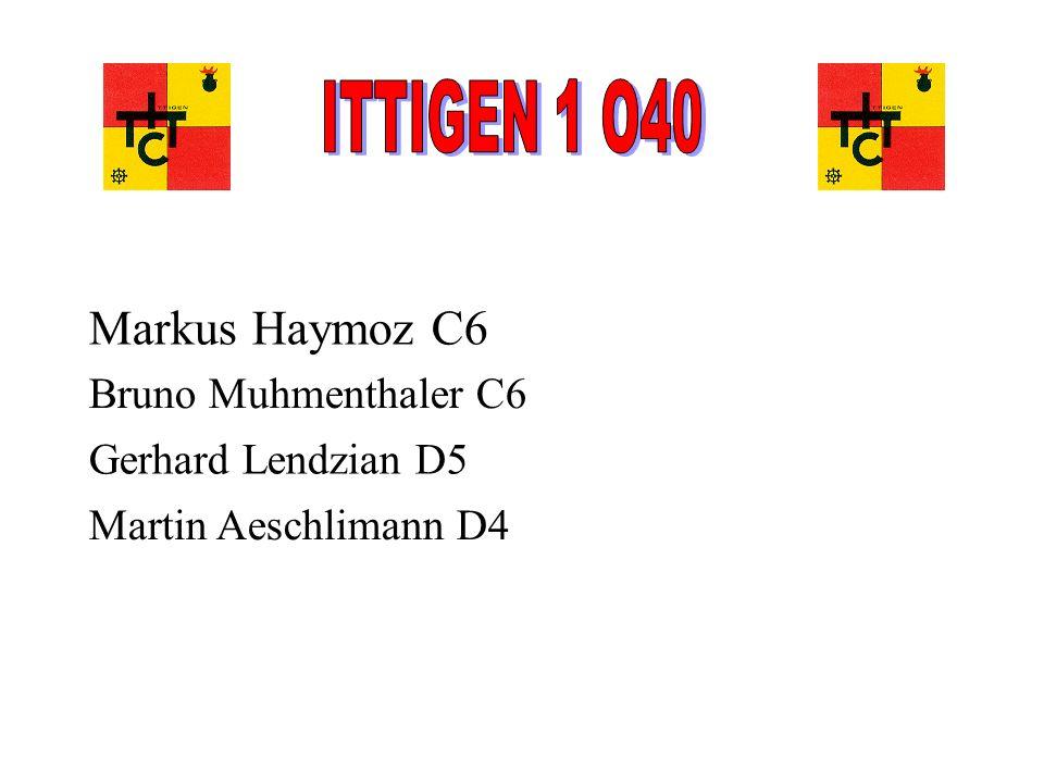 ITTIGEN 1 O40 Markus Haymoz C6 Bruno Muhmenthaler C6