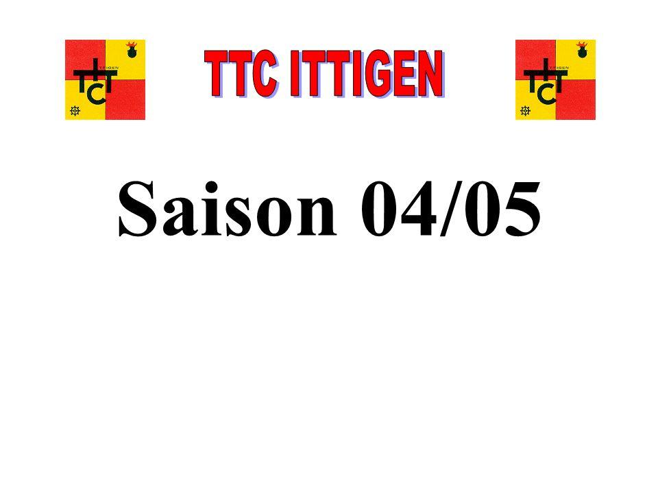 TTC ITTIGEN Saison 04/05