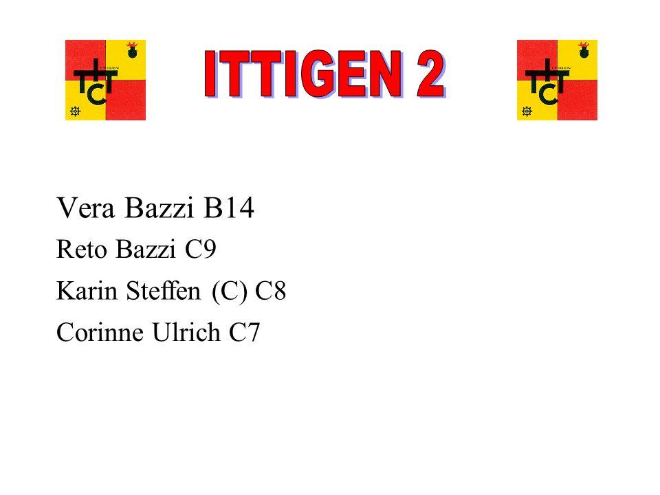 ITTIGEN 2 Vera Bazzi B14 Reto Bazzi C9 Karin Steffen (C) C8