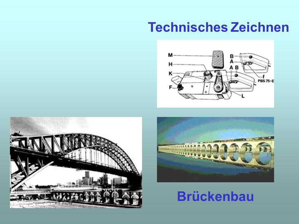 Technisches Zeichnen Brückenbau